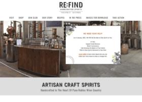 refinddistillery.com