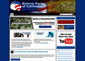 reformpartyca.org