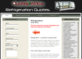 refrigerationquotes.co.za
