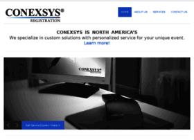 reg.conexsys.com
