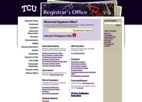 reg.tcu.edu