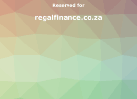 regalfinance.co.za