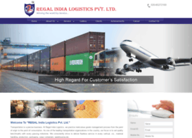 regalindialogistics.com