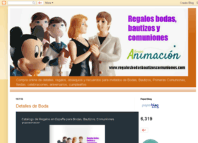 regalosbodasbautizoscomuniones.blogspot.com