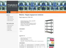regaly.metalica.com.pl
