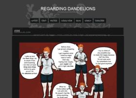 regardingdandelions.thecomicseries.com