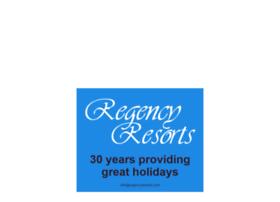 regencyresorts.com