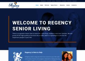 regencyseniorliving.com