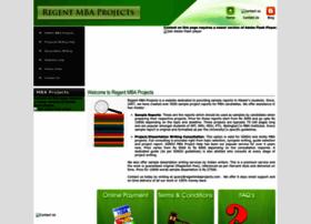 regentmbaprojects.com