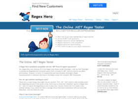 regexhero.net