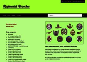 regimentalbrooches.com