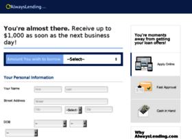 register.alwayslending.com
