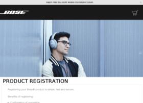 register.bose.co.uk
