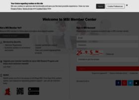 register.msi.com