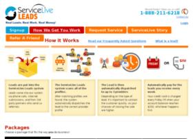 register.servicelive.com