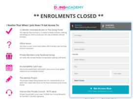 register.thedoingacademy.com