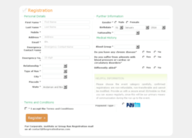 register.thegreatindiarun.com