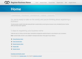 registerbusinessname.com.au