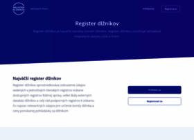 registerdlznikov.sk