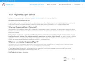 registeredagentintexas.com