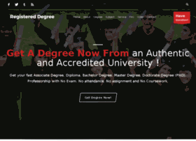 registereddegree.com
