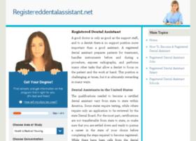 registereddentalassistant.net
