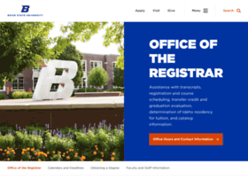registrar.boisestate.edu