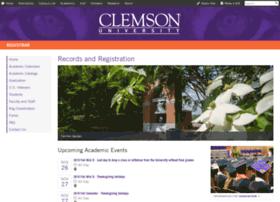 registrar.clemson.edu