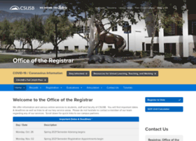 registrar.csusb.edu