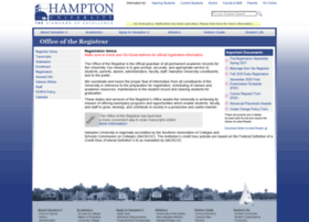 registrar.hamptonu.edu