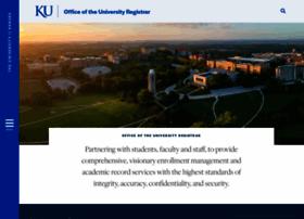 registrar.ku.edu