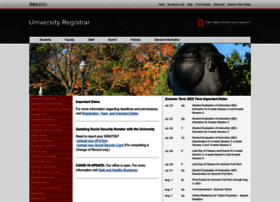 registrar.osu.edu