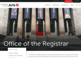 registrar.uarts.edu