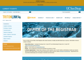 registrar.ucsd.edu