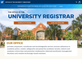 registrar.ufl.edu