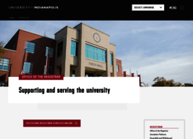registrar.uindy.edu