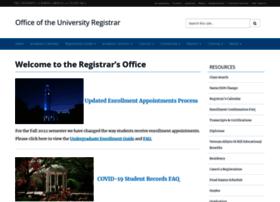 registrar.unc.edu