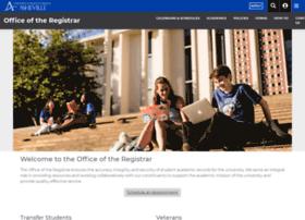 registrar.unca.edu