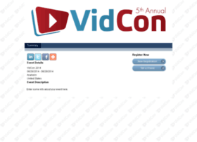 registration.vidcon.com