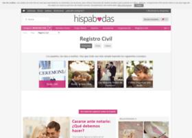 registro-civil.hispabodas.com