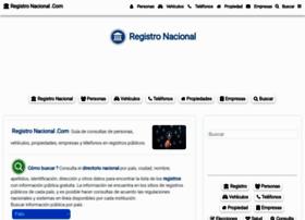 registronacional.com
