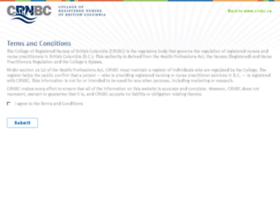 Registry.crnbc.ca