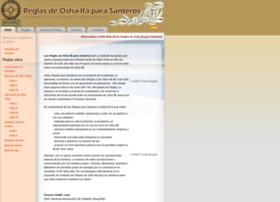 reglasparasanteros.com