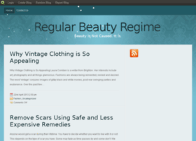 regularbeautyregime.blog.com