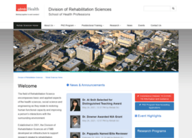 rehabsciences.utmb.edu