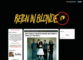 reigninblonde.com