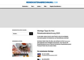 reisekostenabrechnung.org