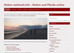 reiten-weltweit.info