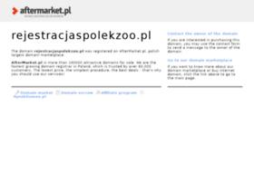 rejestracjaspolekzoo.pl