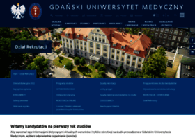 rekrutacja.gumed.edu.pl